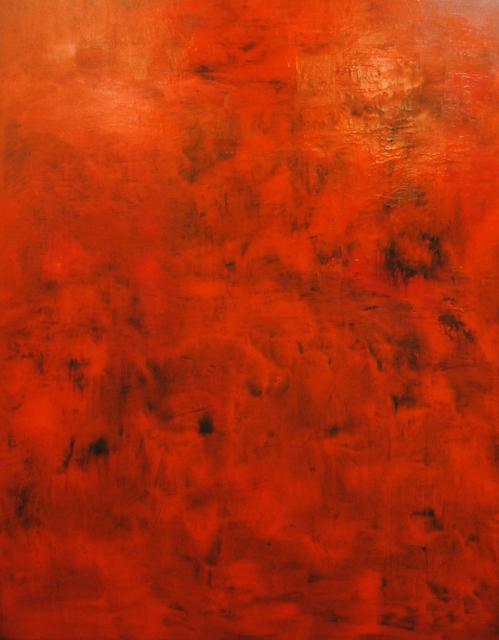 MD Tokon, 'Untitled Red', 2015, Painting, Acrylic on Canvas, Isabella Garrucho Fine Art
