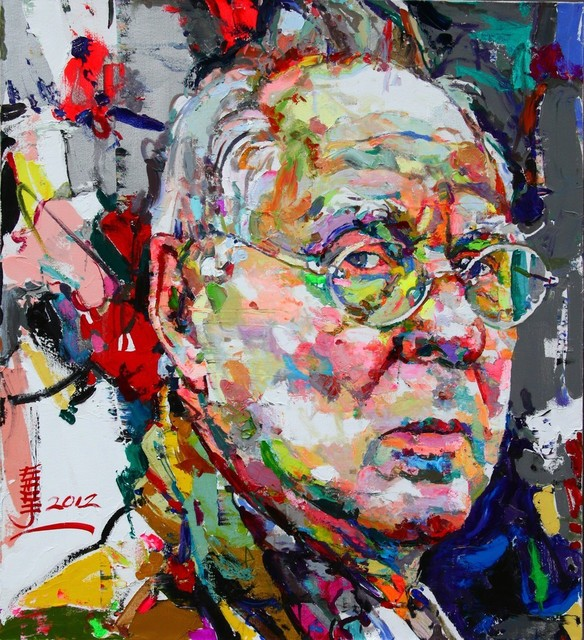, ' Sigmar Polke - 你是我的想象1,' 2012, Ode to Art