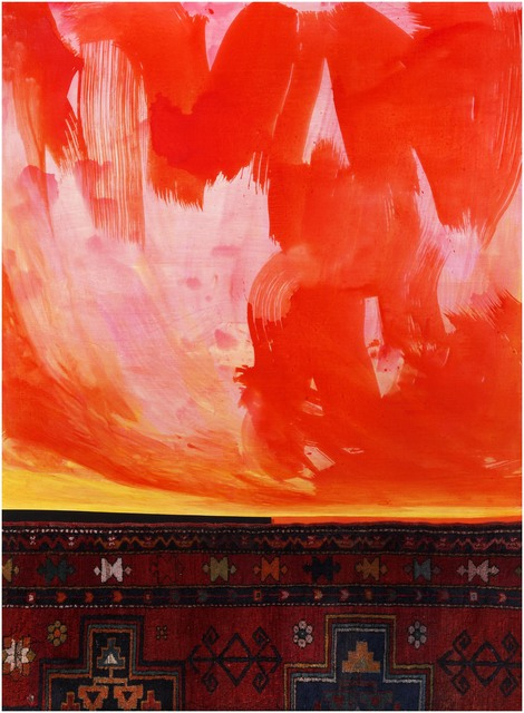 """, 'Red horizon from the series """"In the presence of a landscape"""",' 2018, SM Art"""
