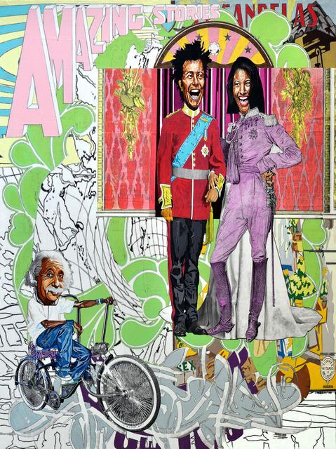 , 'de Amor Prohibido y el Anarquista, el Emcee 2.0 (of Forbidden Love and Anarchist, the Emcee 2.0),' 2012, Lisa Sette Gallery