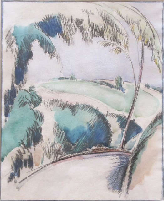 , 'Hills, Pourville,' ca. 1926, The Scottish Gallery