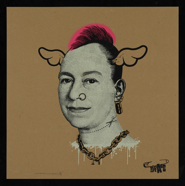 , 'More Punk Than You Punk (Gold, 5/5), 2009,' 2009, StolenSpace Gallery