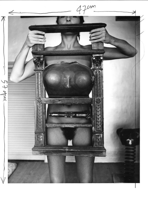 , 'Untitled. Liliana Maresca & her artworks,' 1983, Rolf Art