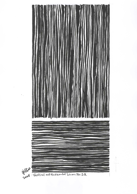 , 'Vertical and Horizontal Lines No. 2B,' 2006, Gallery Isabelle van den Eynde