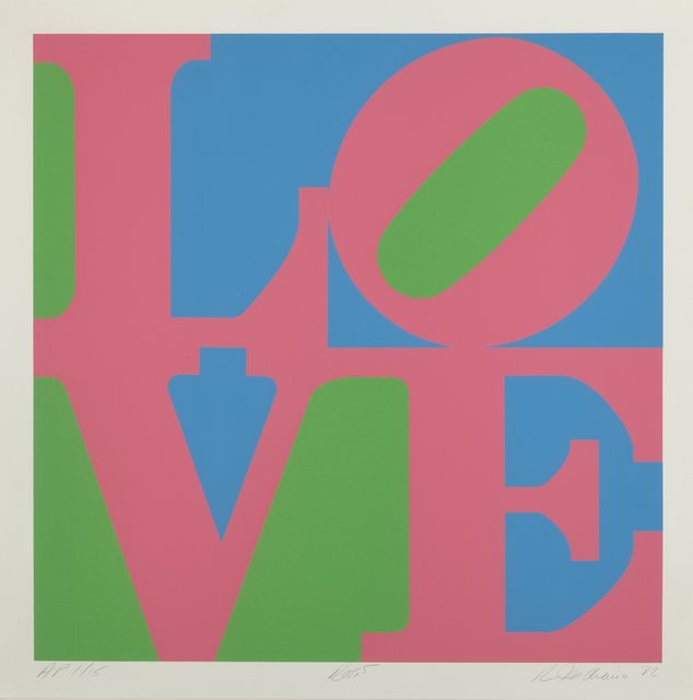 Robert Indiana, 'Roses, from the Garden of Love portfolio', 1982, Heritage Auctions
