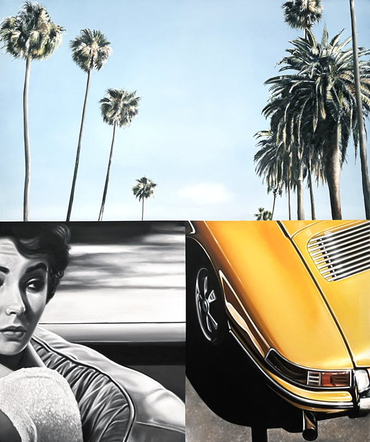 Ryan Jones, 'Palm Drive', 2021, Painting, Oil on Canvas, Caldwell Snyder Gallery