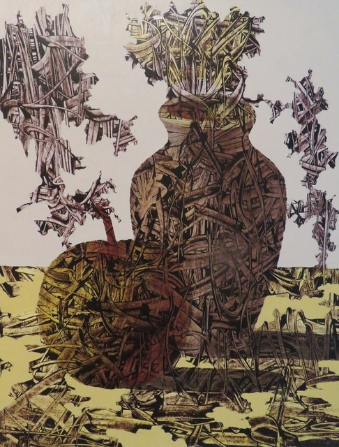 Ivan Marchuk, 'Untitled #89', 1994, Drawing, Collage or other Work on Paper, Acrylic on paper, G & O ART