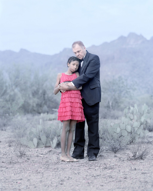 , 'Victoria Zebb, 12 years & Paul Zebb. Tucson, Arizona.,' , Pictura Gallery