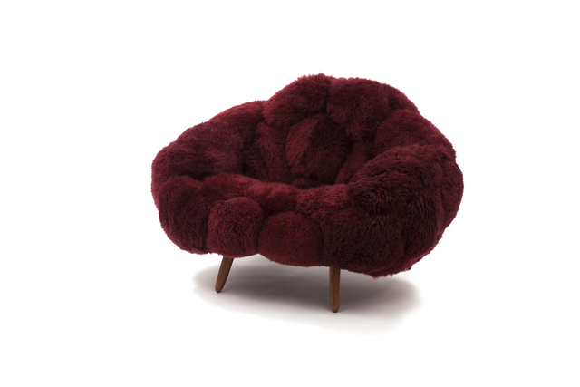 , 'Bolotas Armchair (Cherry),' 2019, Friedman Benda
