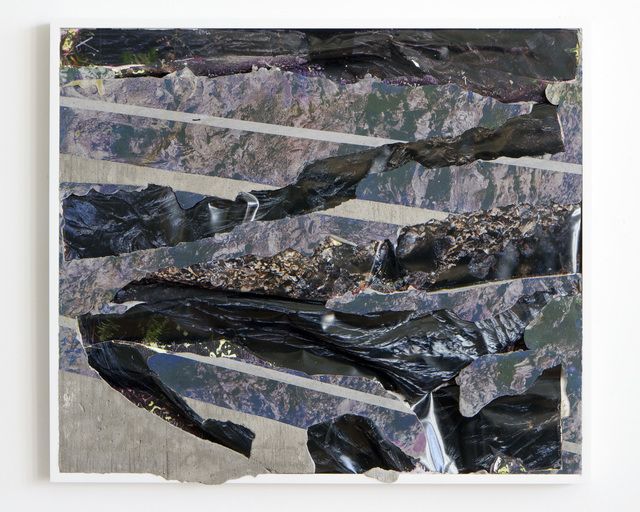 , ' Black Lava Concrete Bend  ,' 2014, Brand New Gallery