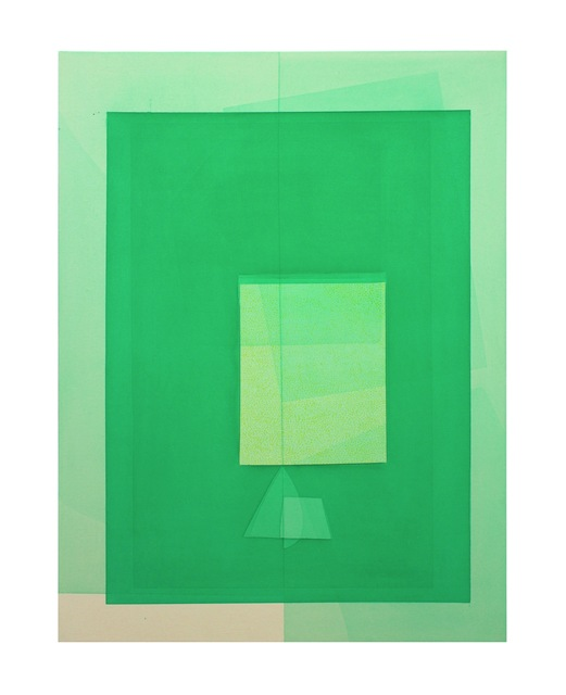 , 'Water Phthalo Green Yellow Shade,' 2016, Ribordy Contemporary