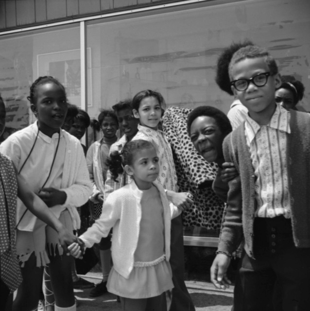 , 'Group of Children (VM1971W01737_1),' 1971, KP Projects