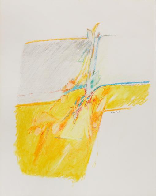 , 'Untitled II (yellow),' 1976, Susan Eley Fine Art