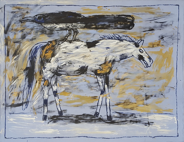 , 'Magpie on White Horse,' 2006, Linda Hodges Gallery