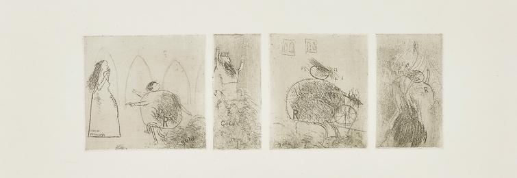 David Hockney, 'Study for Rumplestiltskin,' 1961, Phillips: Evening and Day Editions