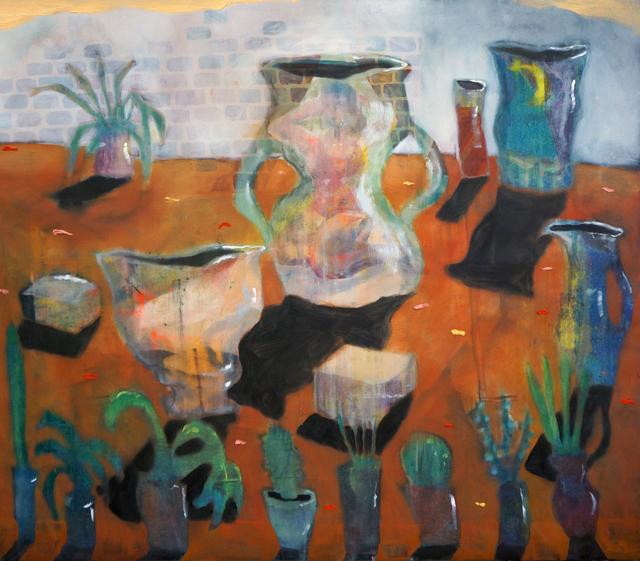 , 'Girl Pot,' 2015, Galerie Mikael Andersen
