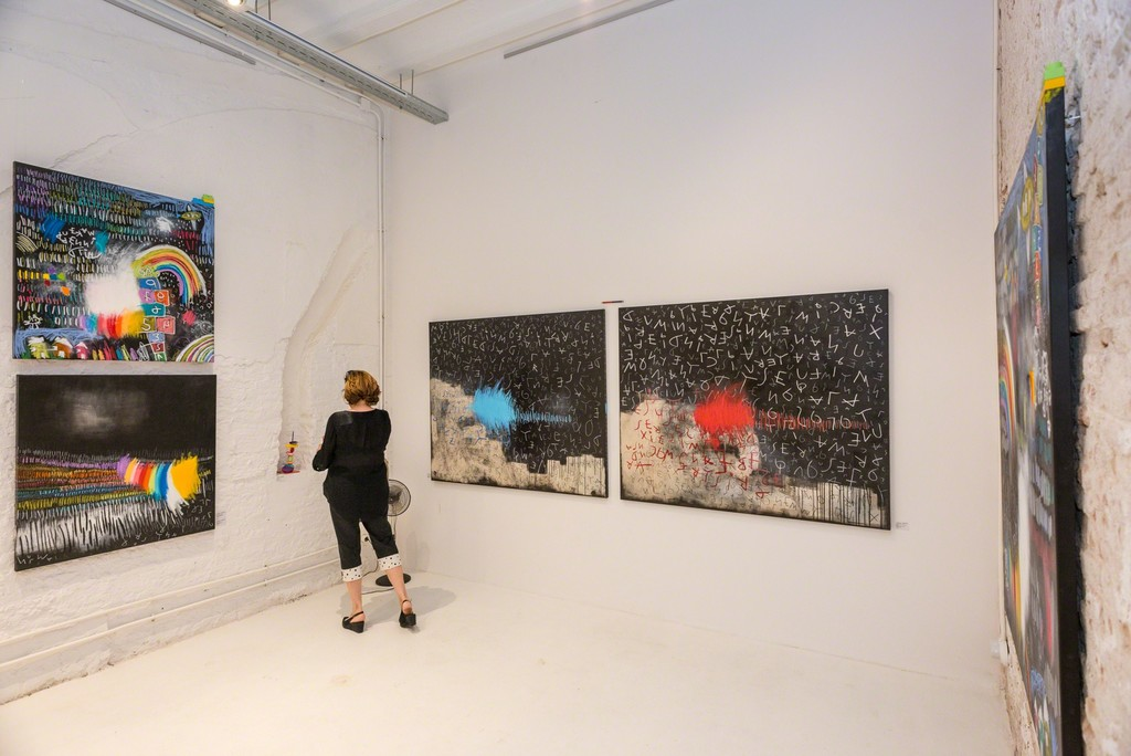 Hey! Inner child - Sandra Partera in Artevistas Art Gallery Barcelona