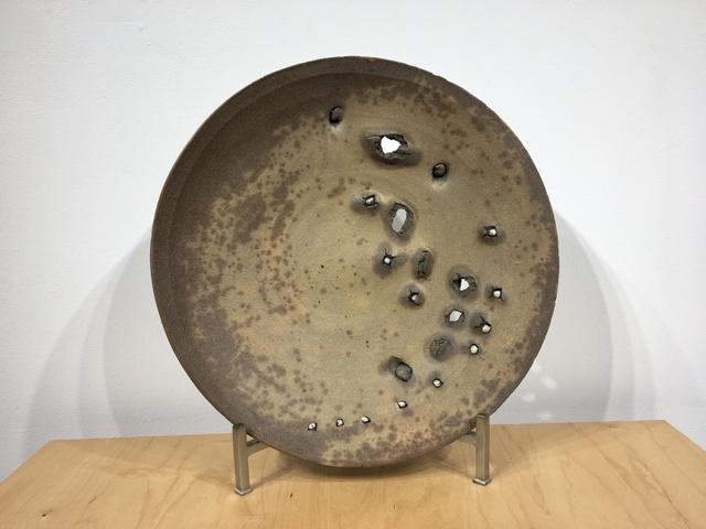 , 'Peter Voulkos Wall Platter,' 1973, Jeffrey Spahn Gallery
