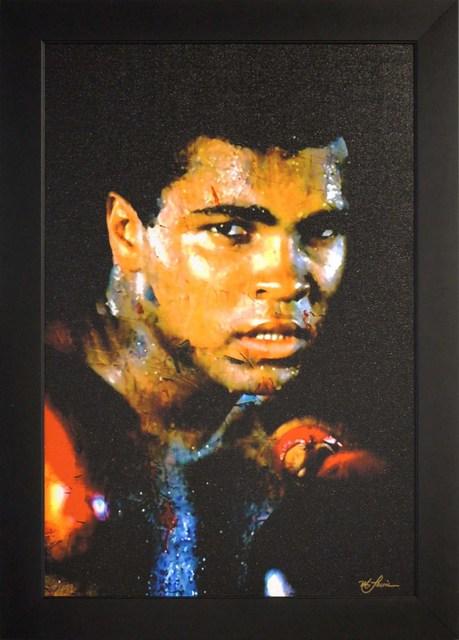 Mark Lewis, 'Limited Edition Giclee 'Affirmation Realized - Muhammad Ali' Celebrity Pop Art, Famous People Artwork', 2017, Fringe Gallery