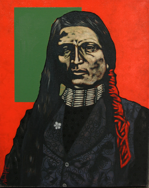 , 'Red Sleeve  - Lakota,' 2016, Modern West Fine Art