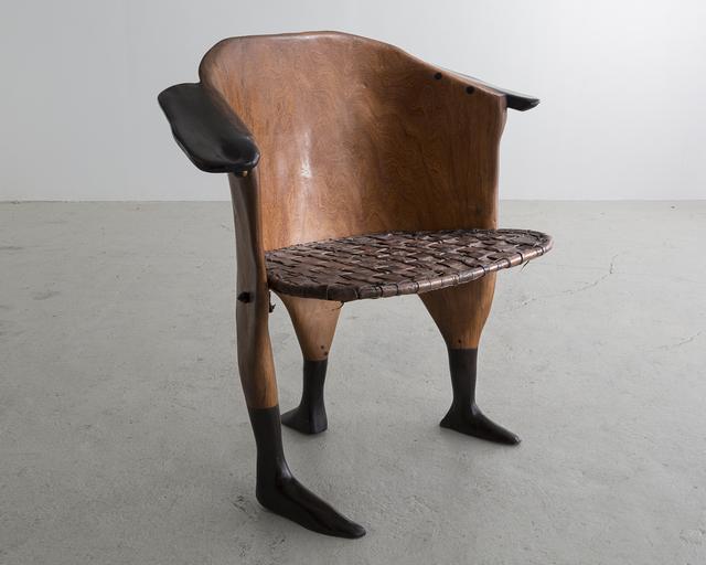 ", 'Sculptural ""Peaux Tendres"" Chair ,' 2014, R & Company"