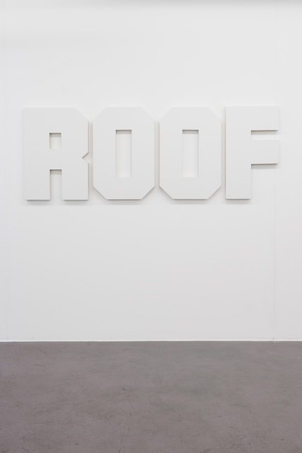, 'Untitled (roof),' 2016, Lange + Pult