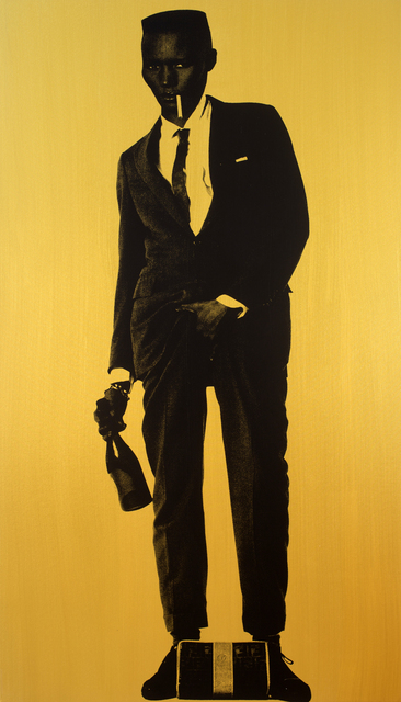 , 'Grace Jones (Gold),' 2015, Joseph Gross Gallery