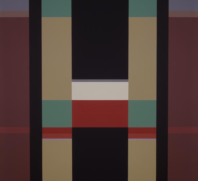 , 'Acrylic No. 1 ,' 1984, Leon Tovar Gallery