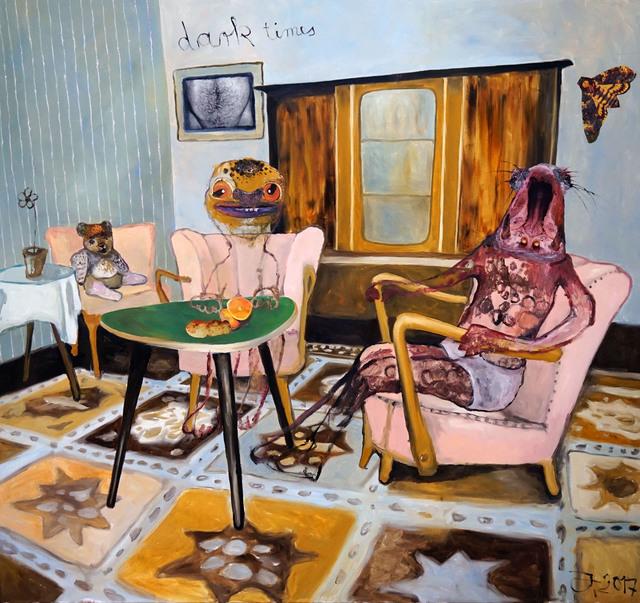 , 'Dark times,' 2017, Galeria Contrast