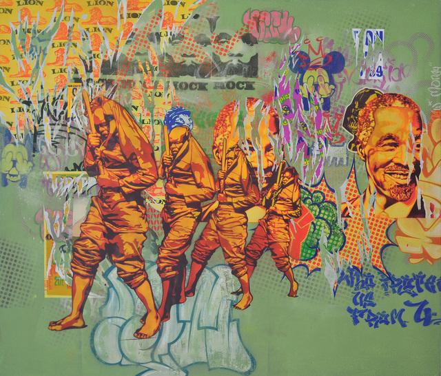 , 'Indoda ebomvu,' 2015, Worldart