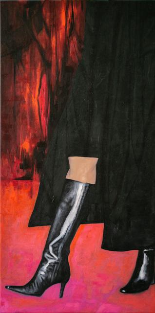 Lauren Rinaldi, 'Romanced Interrogation', 2020, Painting, Oil on canvas, Paradigm Gallery + Studio