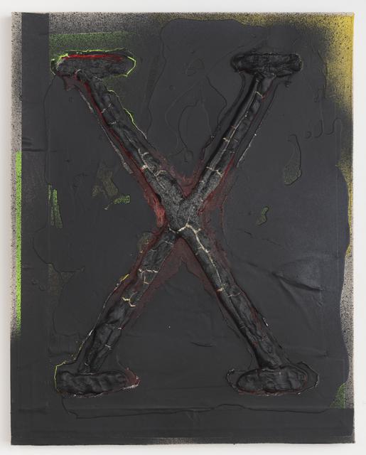 , 'X No.2 (On Ten),' 2018, Night Gallery