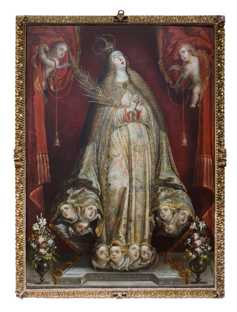 , 'Santa María la Redonda,' Siglo XVIII, Mario Uvence