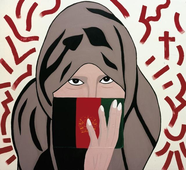 ", 'Cell Girl ""Afghanistan"",' 2006, Lorenzelli arte"