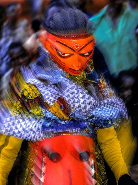 , 'Yoruba Gelede Mask, Benin,' 1993, THK Gallery