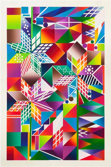, 'Atomic Mystic Portrait 9,' 2016, Richard Levy Gallery
