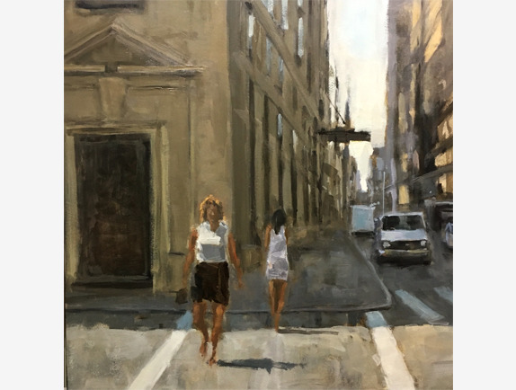 , 'City Sun,' , Addison Art Gallery