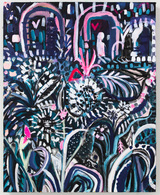 Emily Noelle Lambert, 'Moonlight in the Garden', 2019, Denny Dimin Gallery