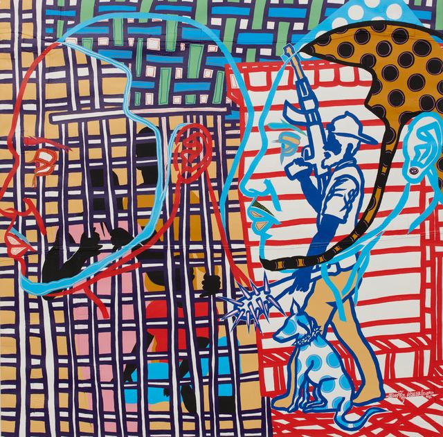 , 'Fermés dans une cage,' 2018, Jack Bell Gallery