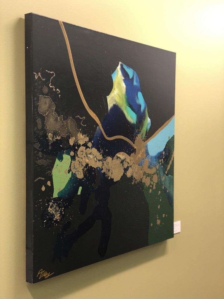 Art Gallery Pure at Living Well Dallas Artist Feature Julie Dailey