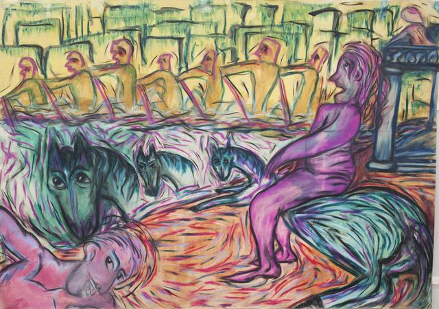 , 'A galopar,' 1984, Hache Gallery