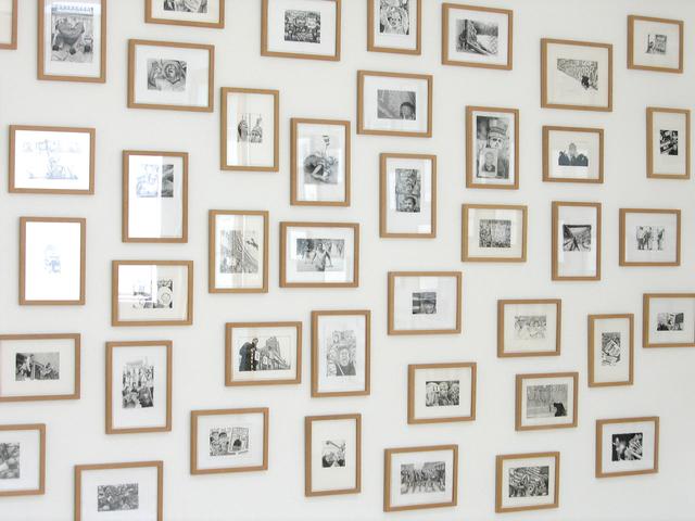 Rirkrit Tiravanija, 'Untitled (100 Demonstration Drawings)', 2006, Graphite on paper, 1301PE