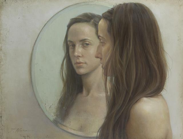 Takahiro Hara, 'Mujer y espejo', Shukado Gallery