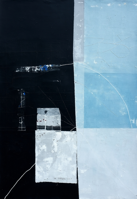 , 'Black and Blue Residue,' 2017, Art Acacia