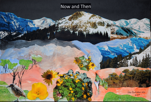 , 'Now and Then,' 2017, Freight + Volume