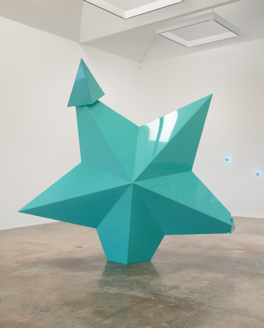 Mark Handforth, 'Turquoise Star,' 2014, Kayne Griffin Corcoran