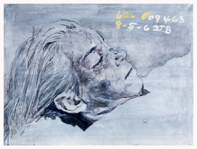 , 'Marilyn is Dead! (blue-grey),' 1994, Silberkuppe