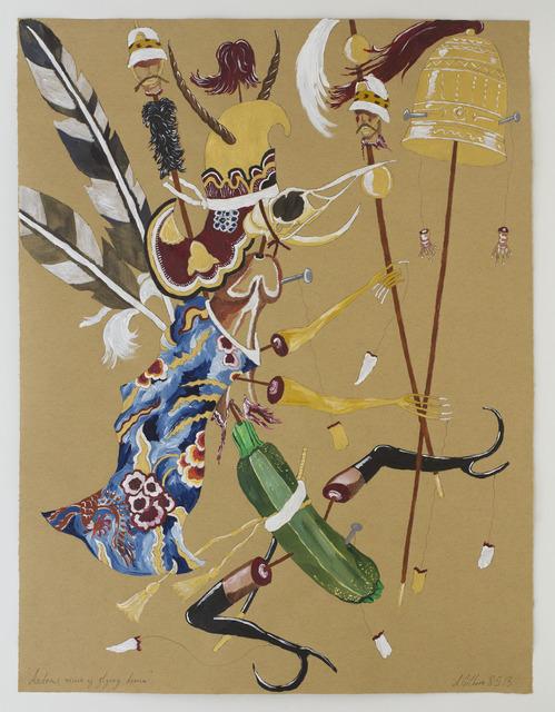 , 'Andrew's vision of flying demon,' 2013, Nanzuka