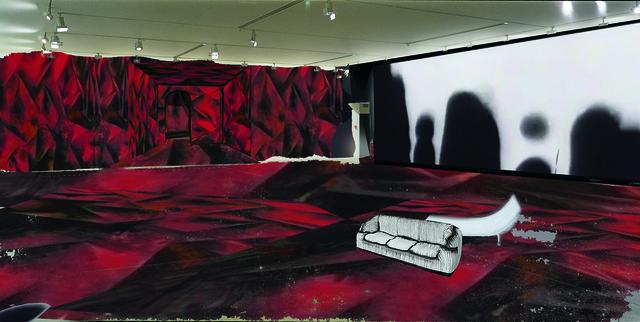 """, 'Preparatory study for the exhibition """"Les Habitants"""",' 2014, Fondation Cartier pour l'art contemporain"""