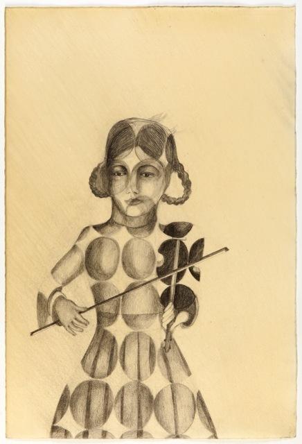 , 'La violinista enbrujada,' 2014, KEWENIG